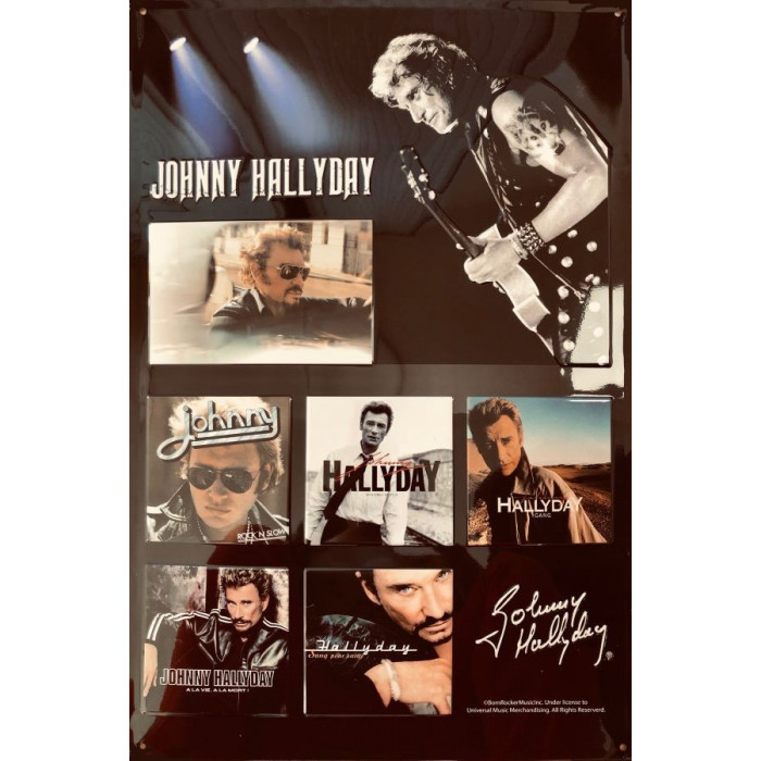 Johnny Halliday - Best Of Dédicace