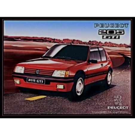 Peugeot 205 GTI - Rouge