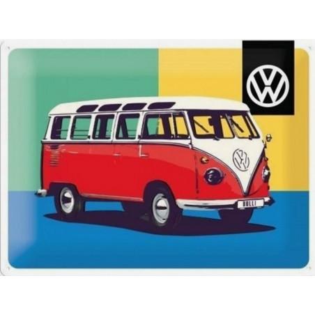 Volkswagen Combi - Rouge Warhol