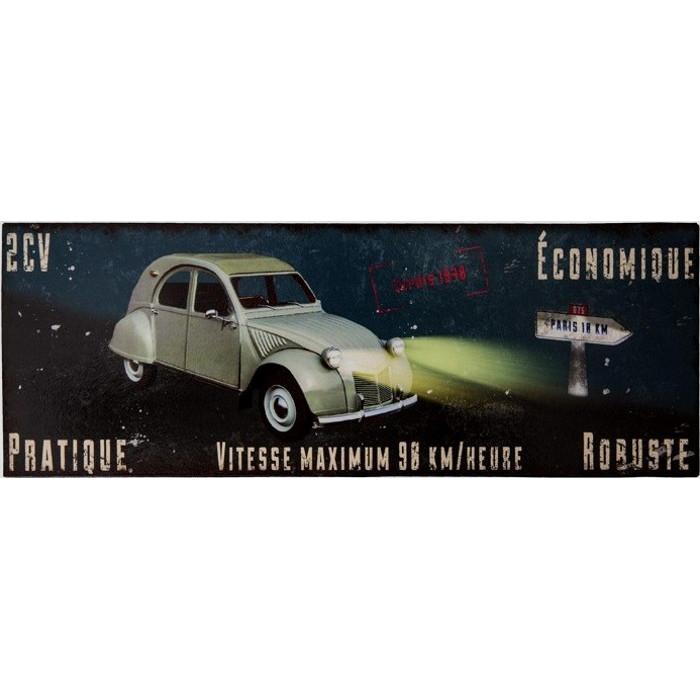 Citroën 2CV – Pratique Economique Robuste 1948