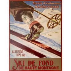 Ski de Fond – Haute Montagne Vintage