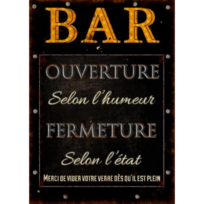 BAR – Ouverture Selon L'Humeur