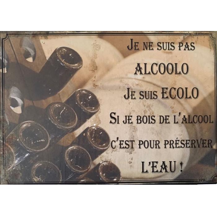 Je ne Suis pas Alcoolo – Je Suis Ecolo