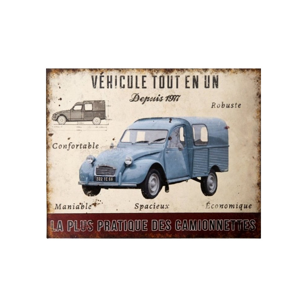 Citroën 2CV – Fourgonnette Bleue