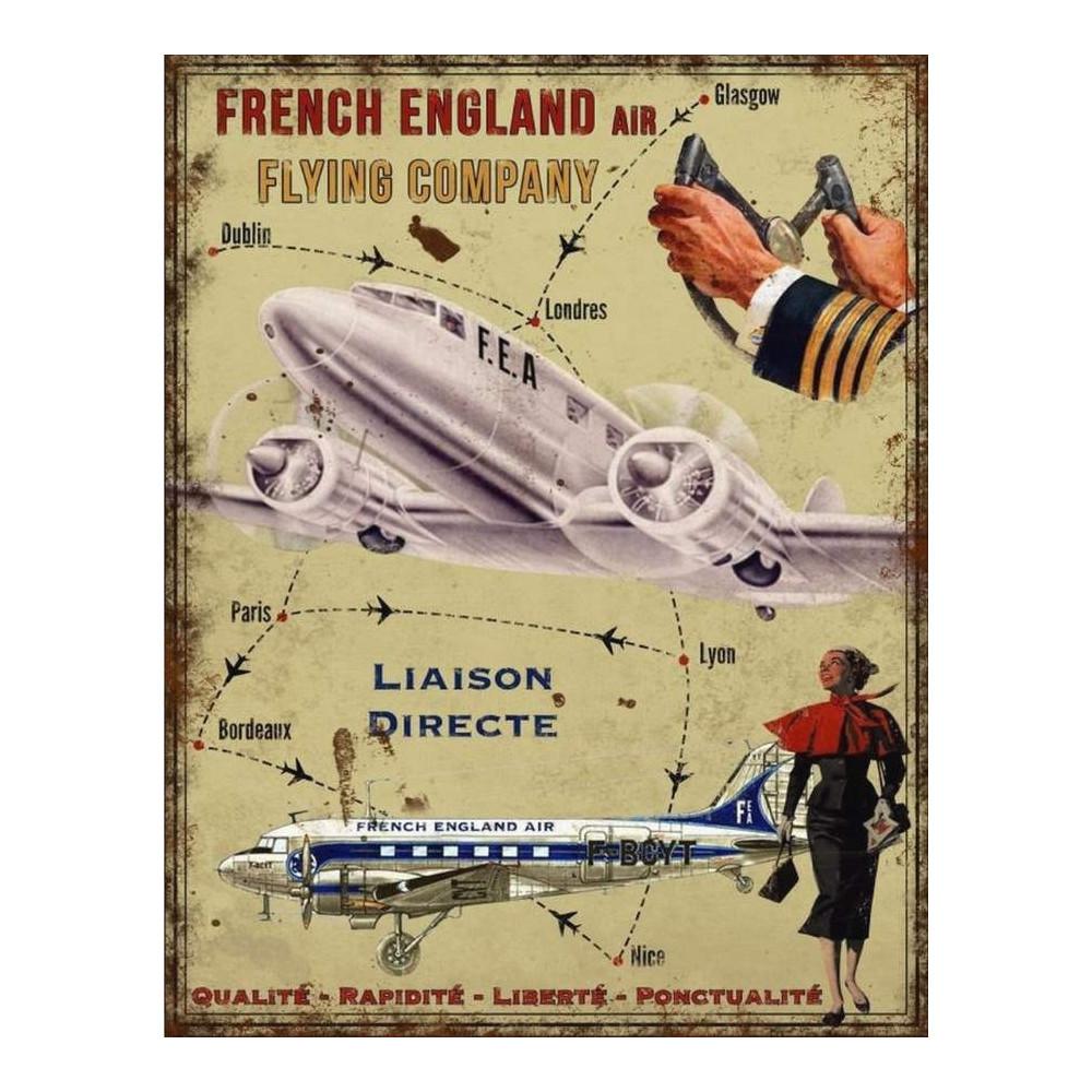 French England Air Company - Avion