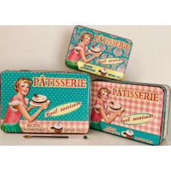 Boîtes à sucre Vintage - Pâtisserie 1953
