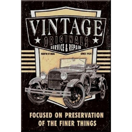 Vintage Original - Garage - Service & Repair
