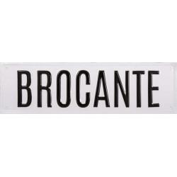 Enseigne BROCANTE