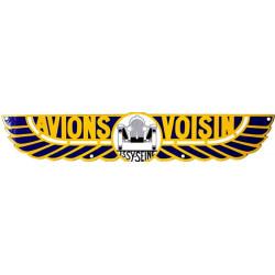 Avions Voisin - Logo - Plaque Emaillée