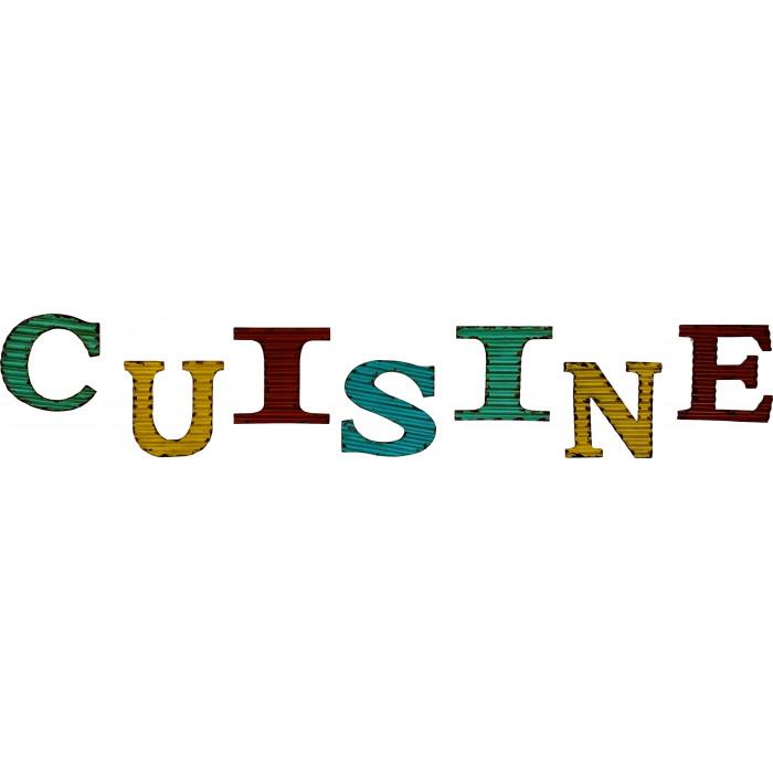 Cuisine - Mot - Lettres