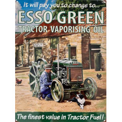 Esso Green Tractor - Fordson - Tracteur
