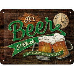 It's Beer O'clock - St Patrick's Day