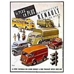 Ancienne Publicité - Régie Nationale des Voitures Renault