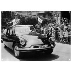Citroën DS19 - Général de Gaulle - Président de la République