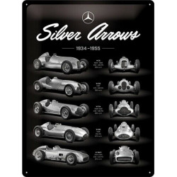 Mercedes Benz - Silver Arrows - 1934 à 1955