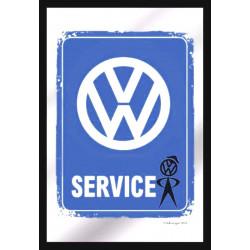 Miroir – Volkswagen Logo - Service Vintage