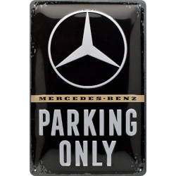 Mercedes Benz - Parking Only Logo