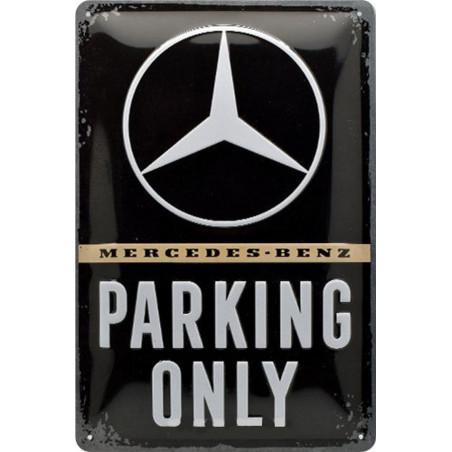 Mercedes Benz - Parking Only Logo