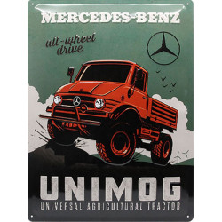 Mercedes Benz - Unimog agricultural Tractor