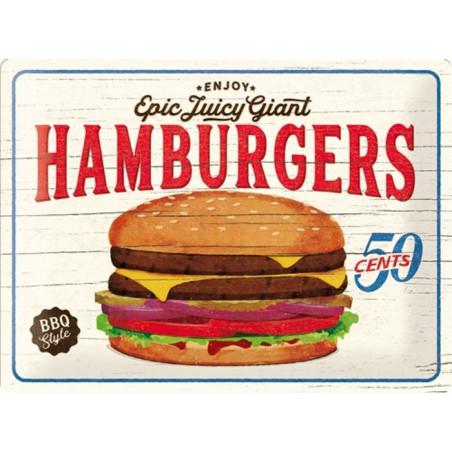 Hamburgers - Epic Juicy Giant - BBQ Style