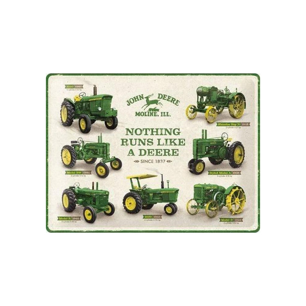 John  Deere - Tracteurs Evolution - Waterloo Boy N au 3010