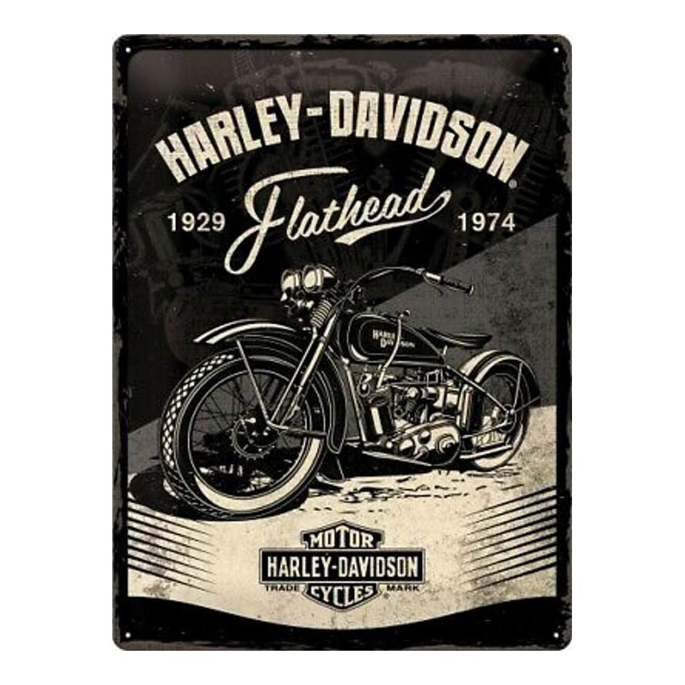 Harley Davidson Motorcycles - Flathead 1929 à 1974