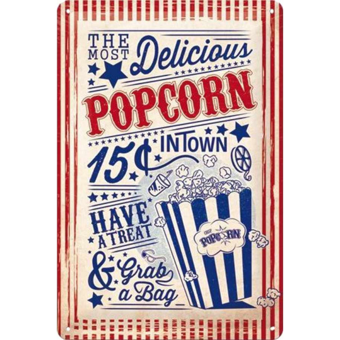 Pop Corn - The Most Delicious in Town 15c