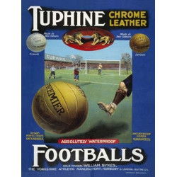 Tuphine football - Vintage Leather