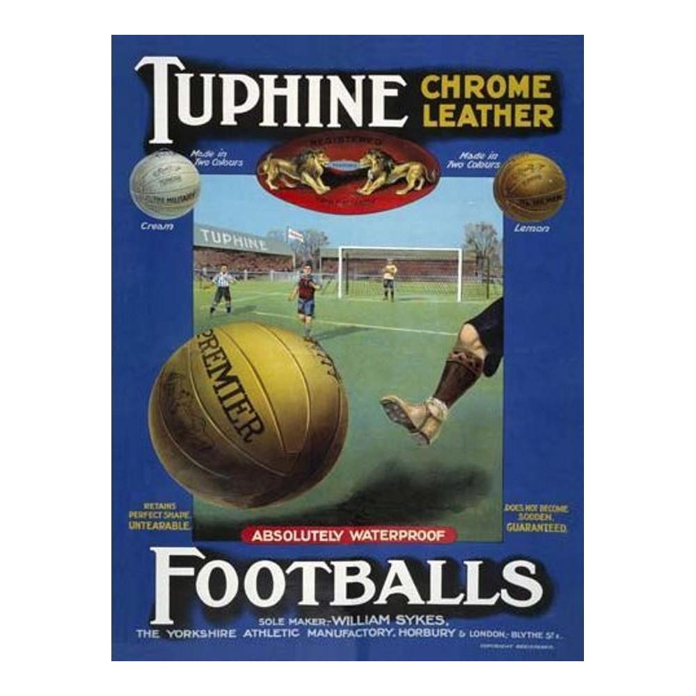 Tuphine football - Vintage Leather