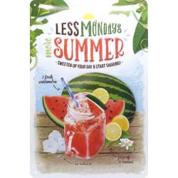 Pastèque Granité Glace - Recette Ete - More Summer