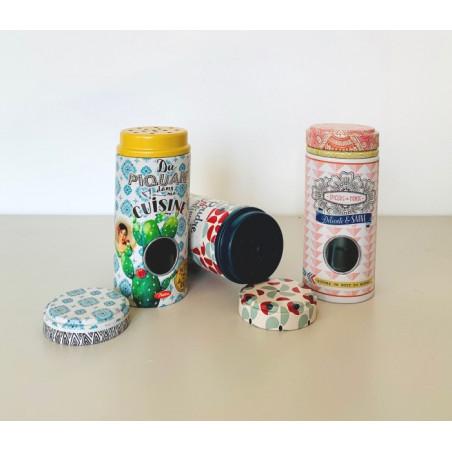 Pot à Epices Cuisine - Vintage Cactus