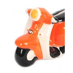 Scooter Vespa - Tirelire Orange