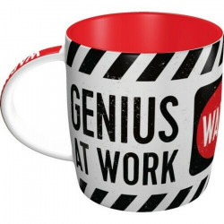 Genius At Work - Warning - Mug Tasse