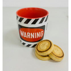 Genius At Work - Warning - Mug Tasse