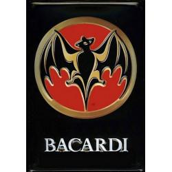 Bacardi Logo Rhum - Relief