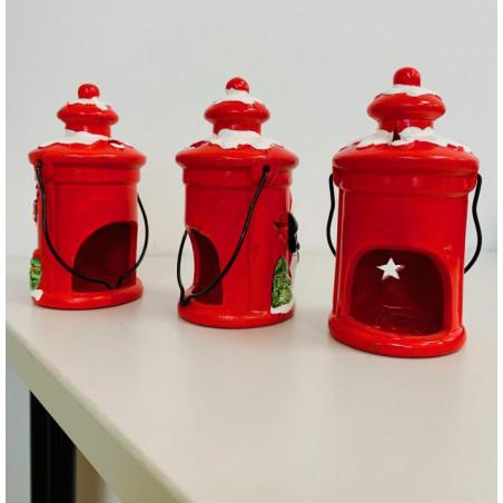 Porte Bougies - 3 Lanternes de Noël