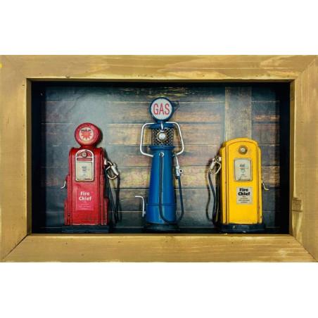 Pompes à Essence Cadre Gasoline - Fire Chief