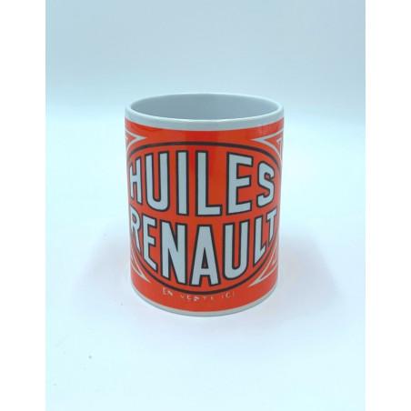Mug Renault - huiles et essence Moteur