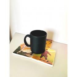Dessous de verre - Café Vintage Marbre