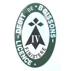 Licence 4 ovale Finistère - Hermine Bretagne
