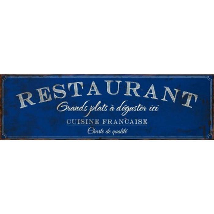 Restaurant Cuisine Française - Charte de qualité