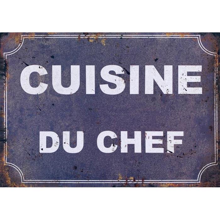 Cuisine du Chef - Décoration Cuisine Vintage