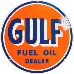 Gulf Logo - fuel Oil Dealer Essence