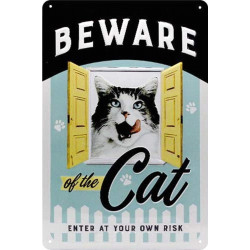 Beware of the cat - Attention Au Chat