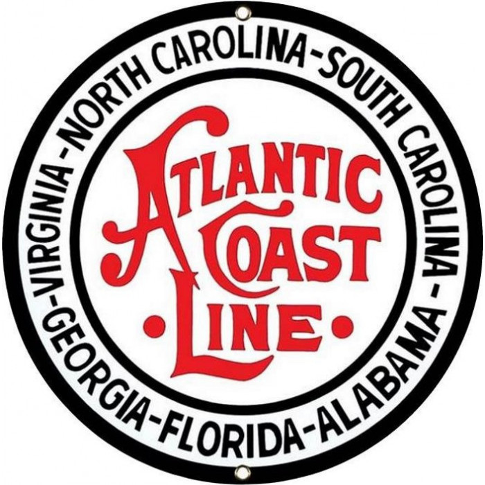 Atlantic coast Line - Chemin de Fer