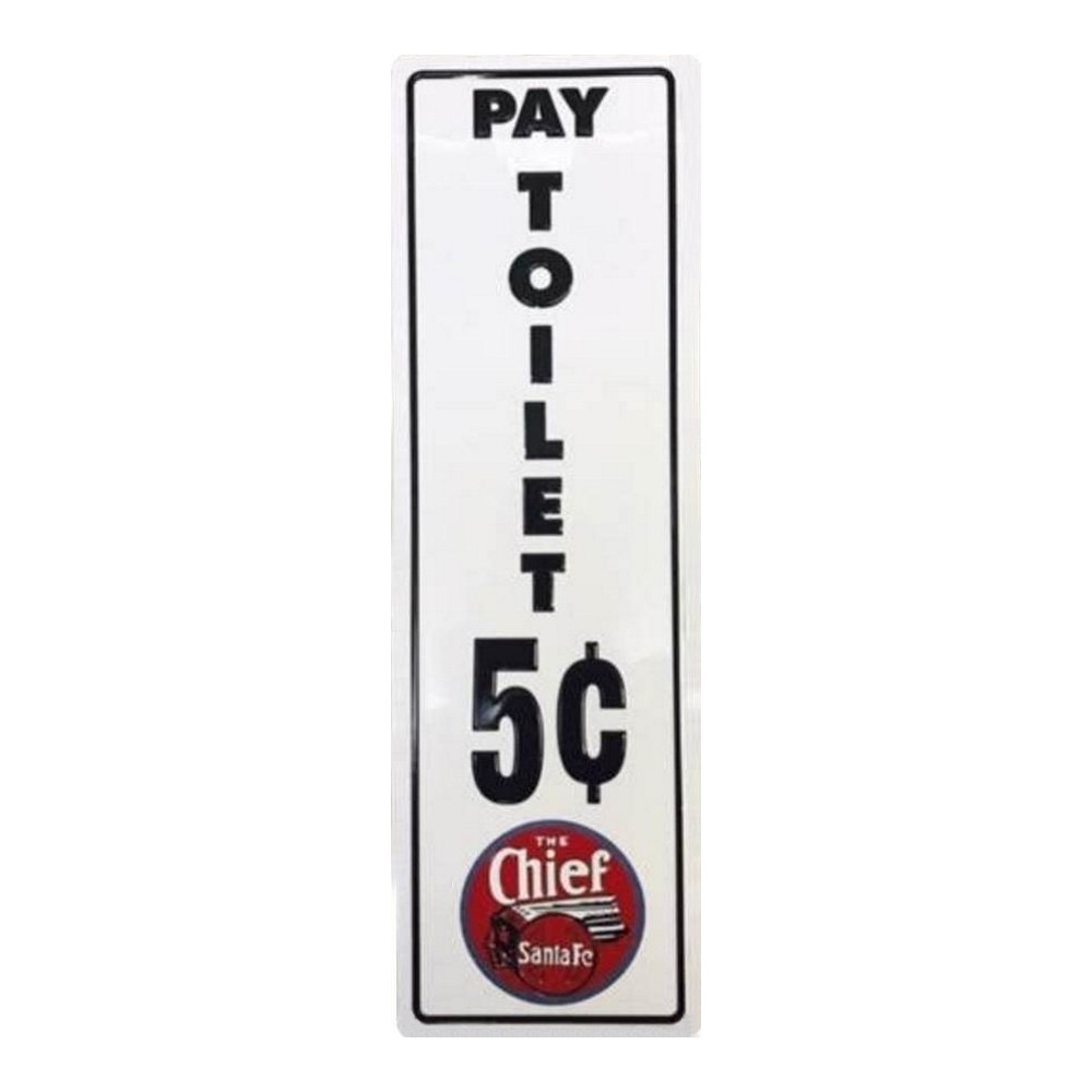 The Chief SantaFe - Pay Toilet 5c