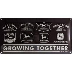 John Deere Tracteurs - Logo Evolution