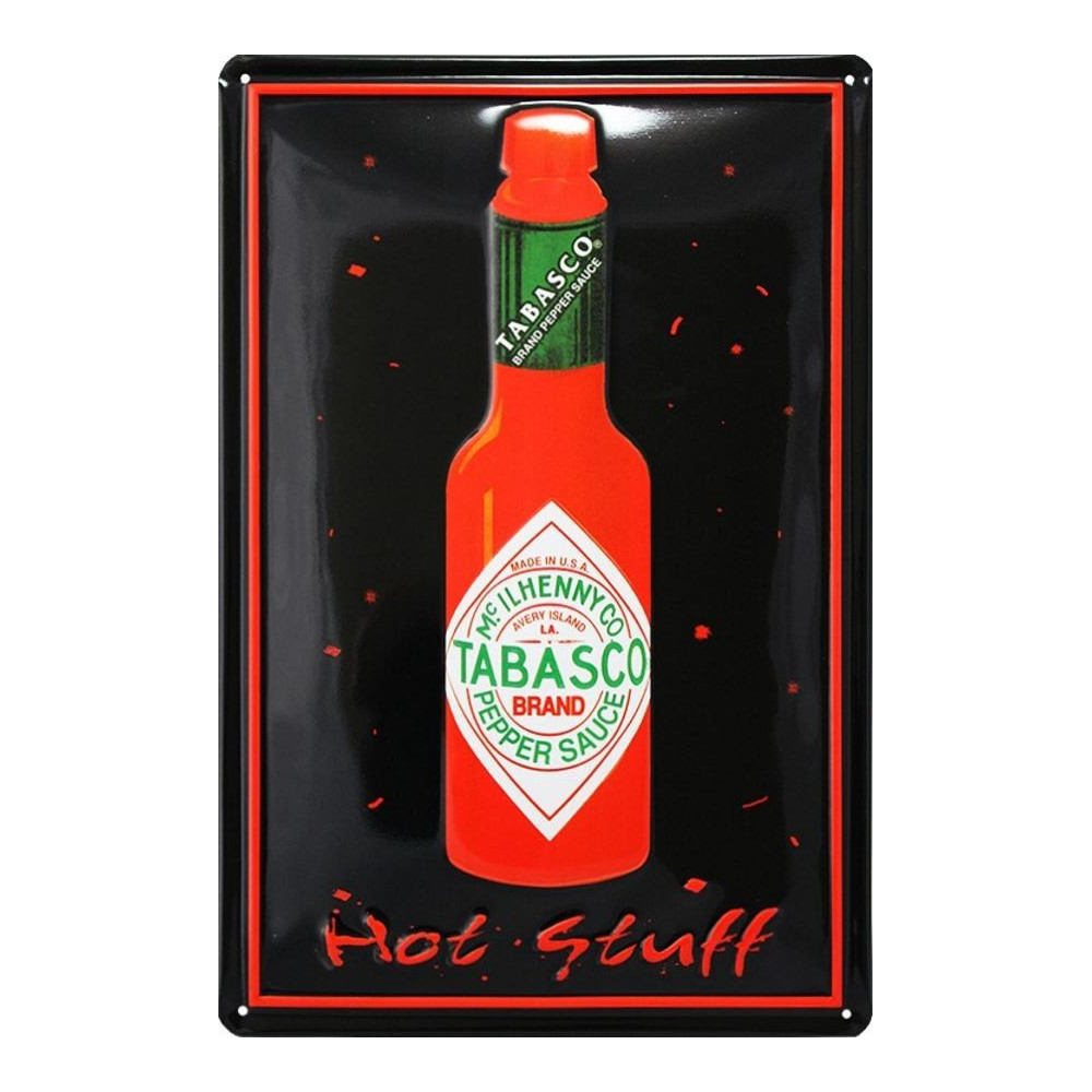 Tabasco Brand Logo Bouteille - Hot Stuff