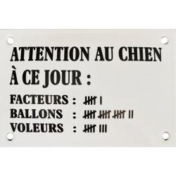 Attention Au Chien décompte...