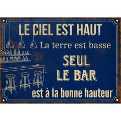 Seul le Bar est à la bonne...